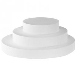 Disco polistirolo Ø Cm. 35x10 H. - Decora