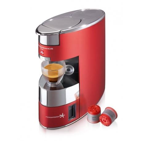 Macchina Da Caffè X9 Iperespresso Illy, Rosso Anodizzato   Illy