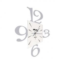 Orologio Prospettiva, Alluminio - Arti e Mestieri