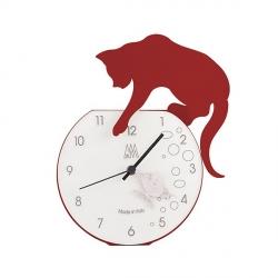 Orologio Tommy, Rosso Scuro - Arti e Mestieri