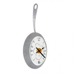 Orologio Omelette, Alluminio - Arti e Mestieri
