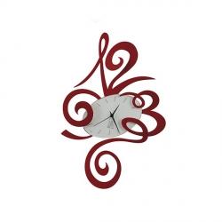 Orologio Robin, Rosso - Arti e Mestieri