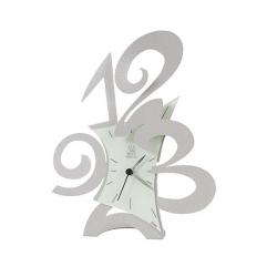 Orologio Robin da tavolo, Alluminio - Arti e Mestieri