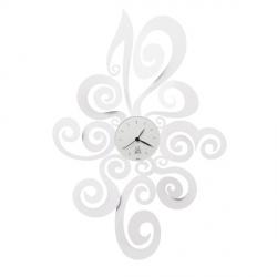 Orologio Noemi, Bianco Neve - Arti e Mestieri