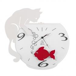 Orologio Tommy & Fish, Bianco - Arti e Mestieri