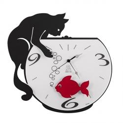 Orologio Tommy & Fish, Nero Goffrato - Arti e Mestieri