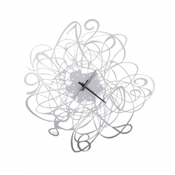 Orologio Big Doodle, Alluminio - Arti e Mestieri