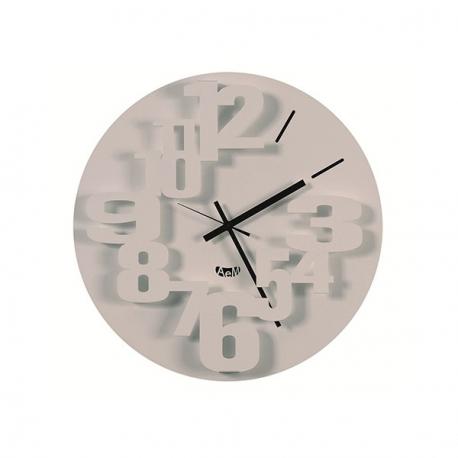 Orologio perseo bianco arti e mestieri idea regalo design for Orologio arti e mestieri amazon