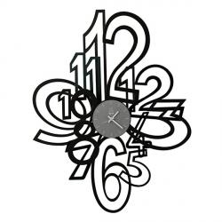 Orologio Mimic, Nero - Arti e Mestieri