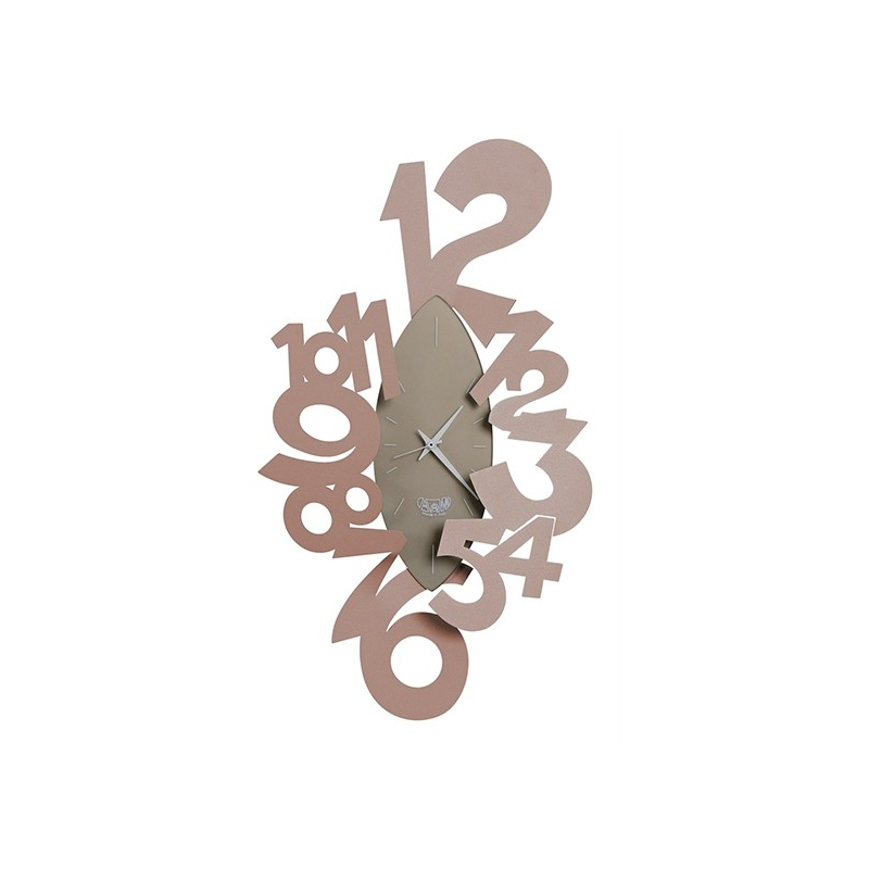 Orologio ogiva beige arti e mestieri idea regalo design for Orologio arti e mestieri amazon