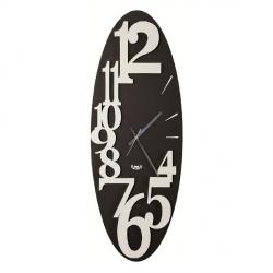 Orologio Corel Verticale, Bianco e Nero - Arti e Mestieri