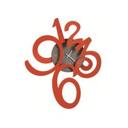 Orologio Erasmus Piccolo, Rosso - Arti e Mestieri