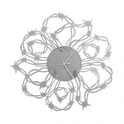 Orologio Spinato, Alluminio - Arti e Mestieri