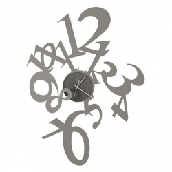 Orologio Astrid, Alluminio - Arti e Mestieri