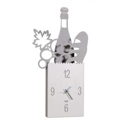 Orologio Shop Bag, Alluminio - Arti e Mestieri