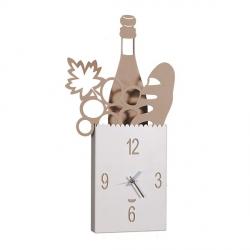 Orologio Shop Bag, Beige - Arti e Mestieri