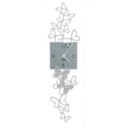 Orologio Butterfly In Volo Pendolo , Alluminio - Arti e Mestieri