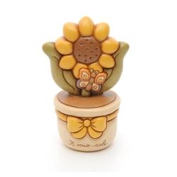 Vasetto con girasole - Thun