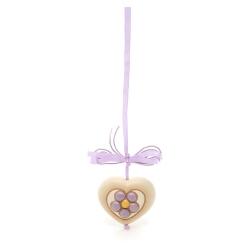 Addobbo cuore con fiore - Thun