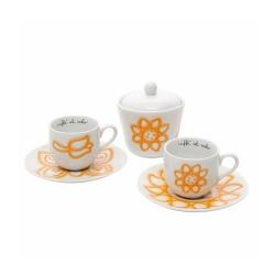 Set 2 tazzine espresso con zuccheriera Allegra - Thun