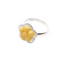 Anello Filigree Yellow Flower - Thun