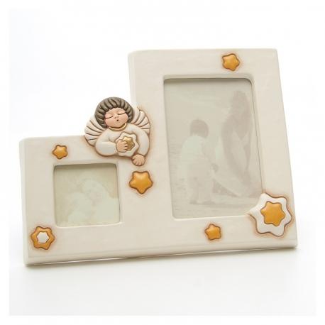 Portafoto doppio angel neutral thun idea regalo design - Porta foto thun ...