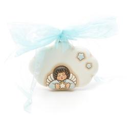 Coccarda nascita Angel boy - Thun