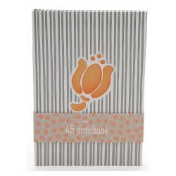 Quaderno a5 allover tulip - Thun