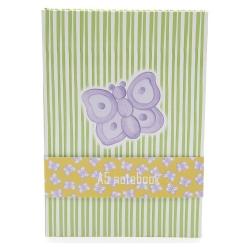 Quaderno a5 allover butterfly - Thun