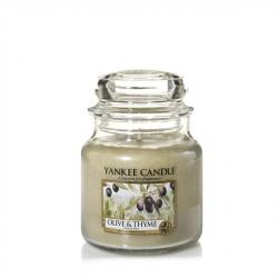 Olive & Thyme Giara Media - Yankee Candle