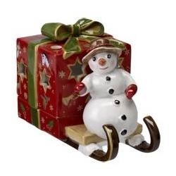Christmas Light Slitta con Pupazzo di neve - Villeroy & Boch