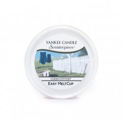 Ricarica MeltCup per profumatore elettrico Scenterpiece, Clean Cotton - Yankee Candle