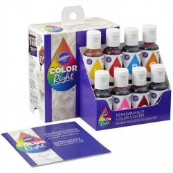Colorante Color Right set 8 colori da 19 ml. - Wilton