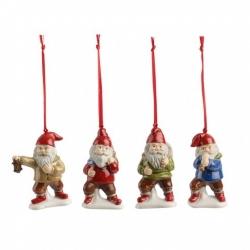Nostalgic Ornaments Ornamenti Nani, set 4 pz. - Villeroy & Boch