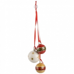 My Christmas Tree Ornamento a tre Sfere - Villeroy & Boch