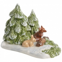 Mini Christmas Village Foresta con animali - Villeroy & Boch
