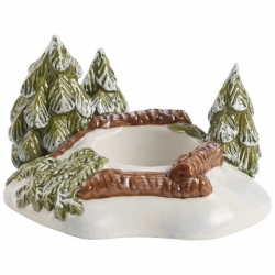 Mini Christmas Village Foresta con candele - Villeroy & Boch