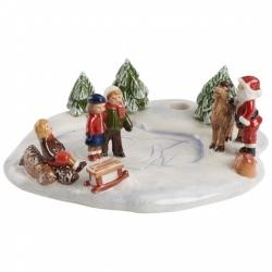 Mini Christmas Village Ambientaz.pattin.ghiaccio - Villeroy & Boch