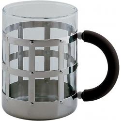 Mug con vetro pirofilo - Alessi
