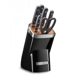 Ceppo con 6 coltelli, Nero - Kitchenaid