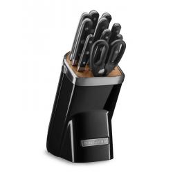 Ceppo con 10 coltelli, Nero - Kitchenaid