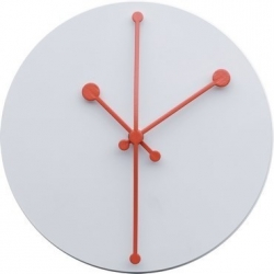 Dotty Clock, Orologio Bianco - Alessi