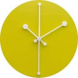 Dotty Clock, Orologio Giallo - Alessi