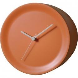 Ora Out, Orologio Spigolo Arancio - Alessi