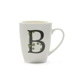 Atupertu, Mug lettera 'b' Ml. 380 - La Porcellana Bianca