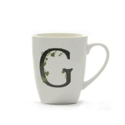 Atupertu, Mug lettera 'g' Ml. 380 - La Porcellana Bianca