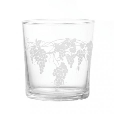 Babila, Bicchiere uva Cl. 35 - La Porcellana Bianca