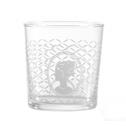 Babila, Bicchiere cameo Cl. 35 - La Porcellana Bianca
