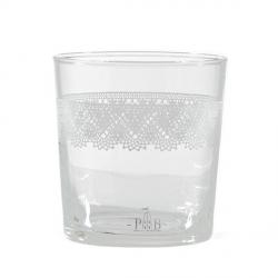 Babila, Bicchiere pizzo Cl. 35 - La Porcellana Bianca
