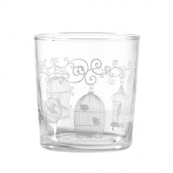 Babila, Bicchiere voliere Cl. 35 - La Porcellana Bianca